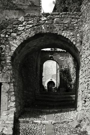 Built Structure Architecture Arch Day Outdoors No People Building Exterior Labro Rieti, Italy