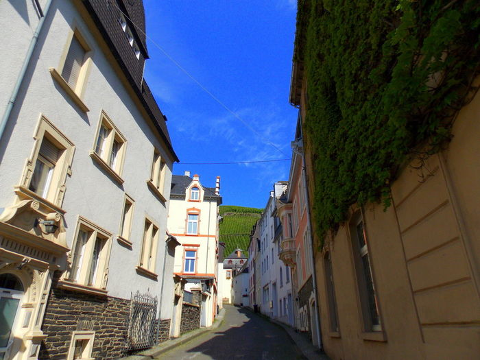 Bernkastel-Kues Bernkastel-Kues Vineyards  Architecture Blue Building Exterior Built Structure City Clear Sky Day House No People Outdoors Residential Building Sky Summer Reminder Town Wine