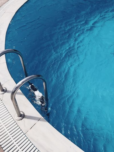 Live For The Story Swimming Pool Summer Water No People Sea Vacations Outdoors Sunlight Blue Day Nature Beauty In Nature Close-up TheWeekOnEyeEM EyeEm Best Shots Minimalism Minimal Minimalobsession Minimalist Minimalistic Minimalist Photography  Pool Poolside BYOPaper! Breathing Space Modern Hospitality