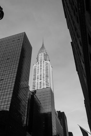 Switching it up for a second. Chrysler Building Skyscraper Architecture Modern Business Finance And Industry Travel Destinations Building Exterior Urban Skyline City Finance Built Structure Sky Business Night Stock Market And Exchange Outdoors Cityscape No People The Week On EyeEm New York City Monochrome Black And White Black And White Photography Black And White Friday