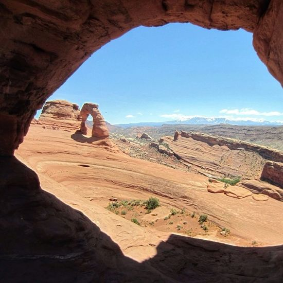 Delicatearch at Archesnationalpark Utah Utahgram utahgraphy theoutbound theroadwesttraveled view desert rei1440project rsa_nature wildernessquest