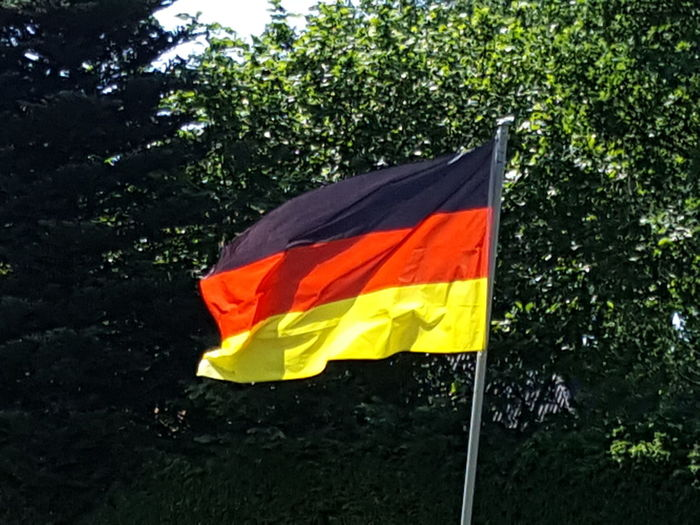 Football Fever Flag Flag In The Wind German Germany German Flag Fußballfieber Fußball EM 2016 Football European Championship