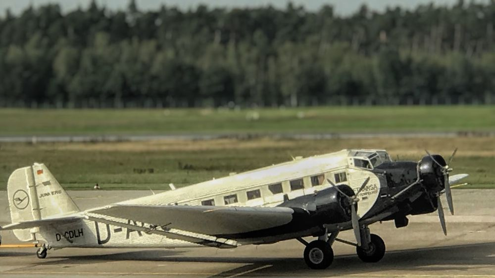 I fell in love with this photo because it looks like a miniature. JU-52 Airplane Transportation Air Vehicle Airport No People Airport Runway Old-fashioned Military Airplane Runway Outdoors