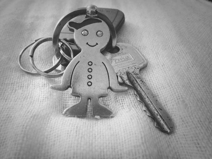 Show Me Your Keys Keys Blackandwhite Keychain