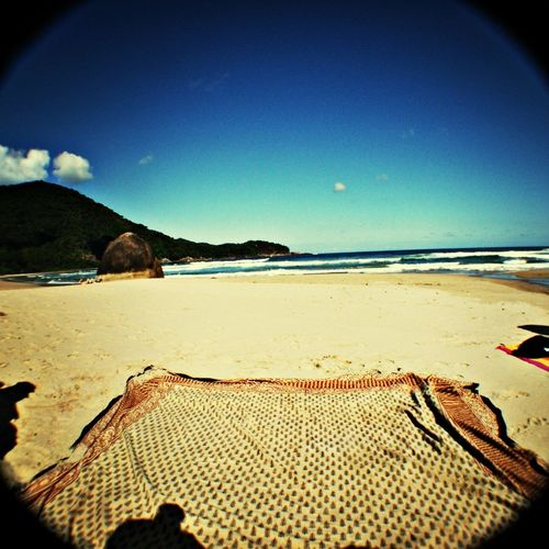 Thanks god! Relaxing Praia Alone