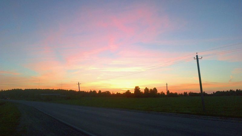 Road Roadtrip Sunset Holiday Travel Adventure World Spring Nature Inspiration вдохновение Sky безфильтров