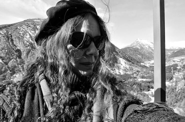 Relaxing Taking Photos That's Me Hello World Mountains Happyday Selfie Blackandwhite Black And White Day Off