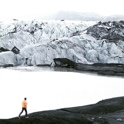 Iceland Snow Winter Nature Iceland, Icebergs, Landscape, Frozen, Glacier, Lagoon, Cold Temperature