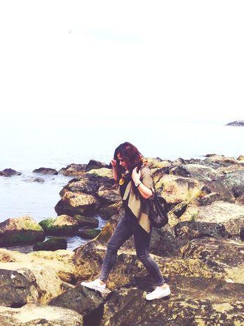 🌊🌊🚶🏃Taslar engel degil ki yol almaya Enjoying Life
