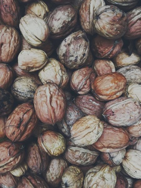 walnut season Food And Drink Walnut Healthy Eating Nuts Nut - Food Food Backgrounds Texture No People Still Life Full Frame Large Group Of Objects Abundance Close-up Freshness Autumn France Europe Day Nutshell Season  Work Collected