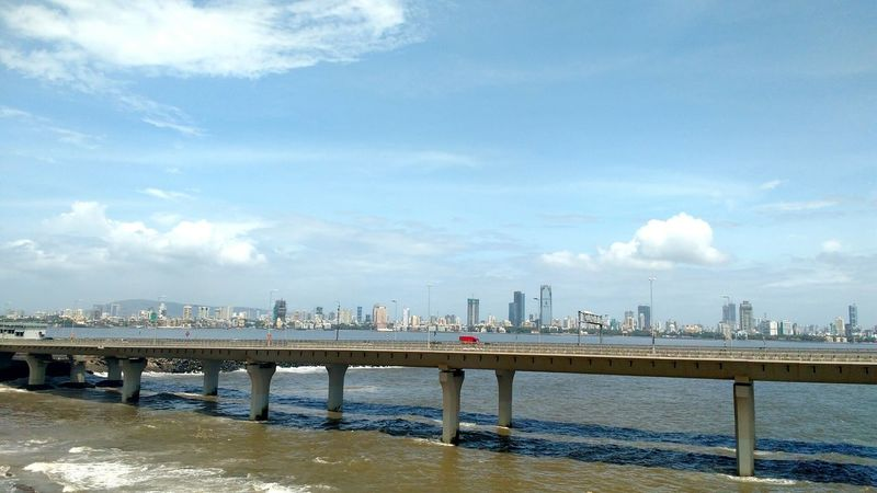City over the Bridge , Bandra Worli Sea Link