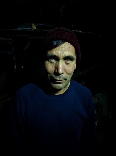 Portait Portait Nightphotography Night Hat Thirdworld Hazara Afghanistan In Pictures Looking At Camera Portrait Front View One Person Real People Human Face Shadow Adult People Close-up Human Eye First Eyeem Photo