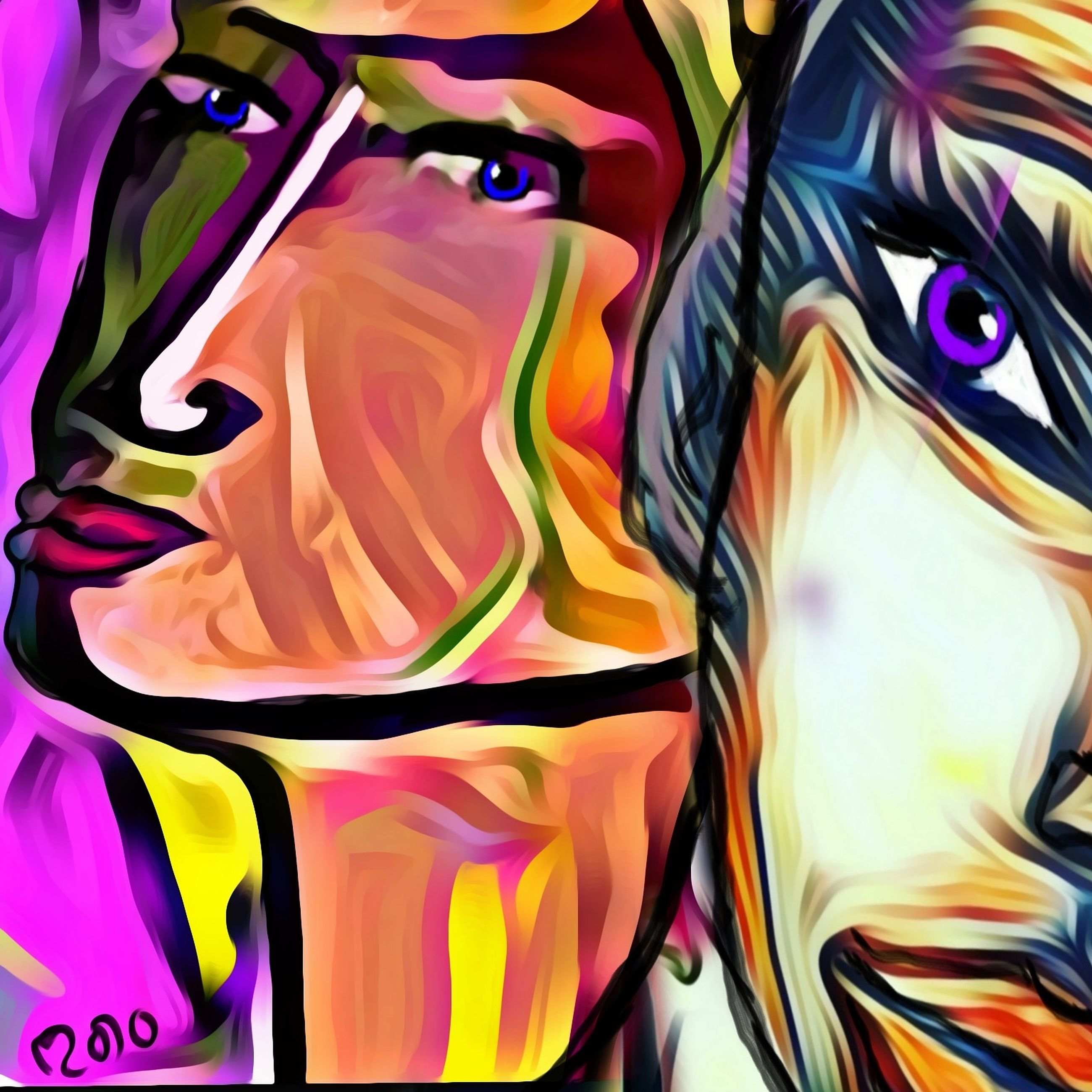 multi colored, full frame, cartoon, abstract, backgrounds, anime, no people, comic book, pattern, art, creativity, close-up, variation, motion