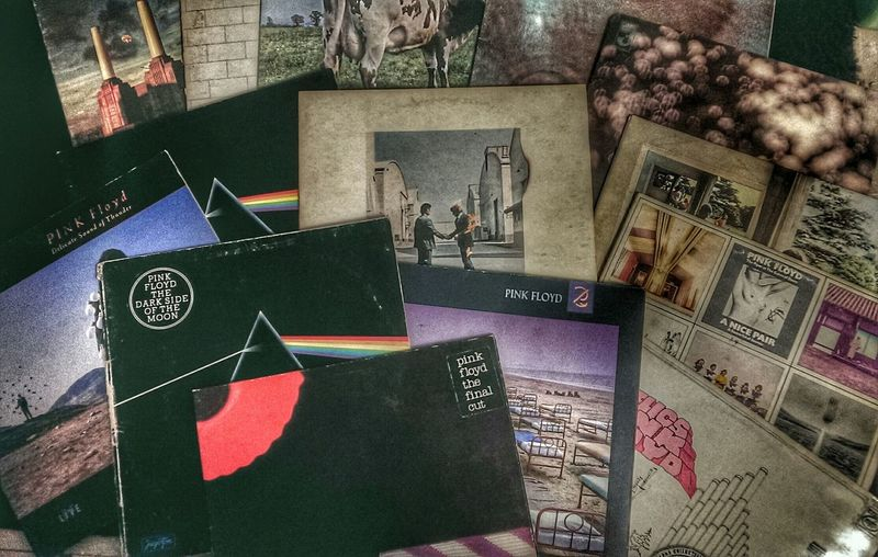 Vinyl Records Pinkfloyd Collection Fuck You, This Is Porn. Listening To Pink Floyd Great Music The Great Masters Of Art @jelenacalasn7