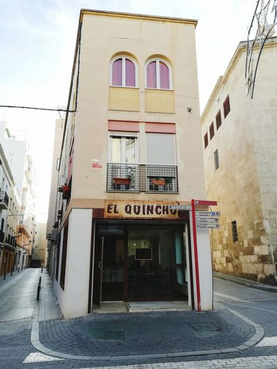 El Quincho Façade Facades Restaurant Comida SPAIN Almería Old Colors Fachada Window Color Politics And Government City Architecture Sky Building Exterior Built Structure Gate Closed Door City Gate Historic Building Historic Entry Entrance Entryway
