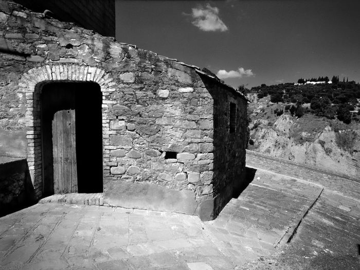 Black And White Photography Day Ghost Town Landscape_photography Mood Nature No People Outdoors Rural Architecture