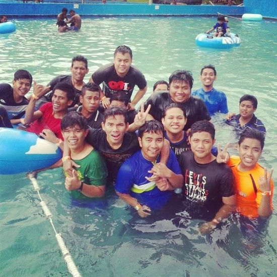 We are together..:-) Throwback Wetworld Pedas Gengtelokmas melaka
