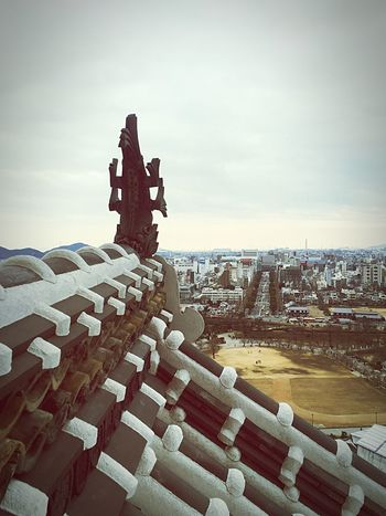 The Tourist Himeji Castle View View From Above Japan Himeji Fish Scenery Architecture Design Showcase: February Landscapes With WhiteWall The Architect - 2016 EyeEm Awards Ultimate Japan