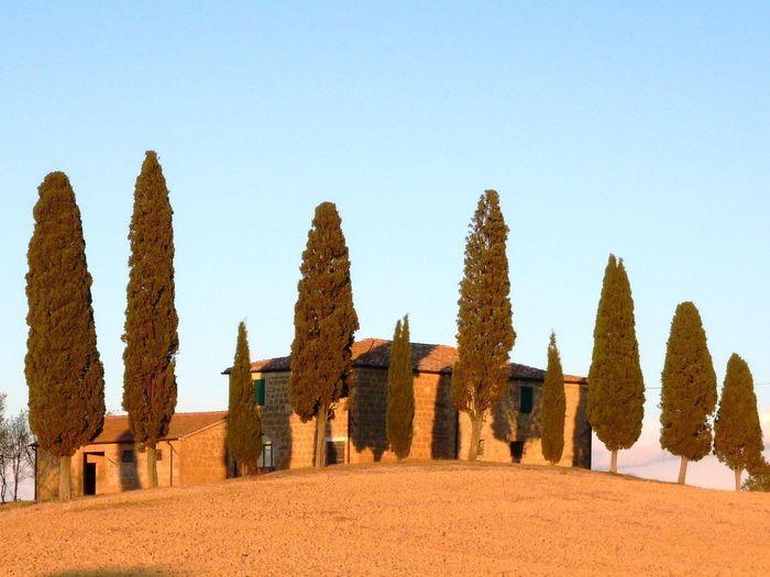 EyeEmNewHere Beautiful Landscape Romantic House Outdoors Tuscany Landscape Tuscany Countryside