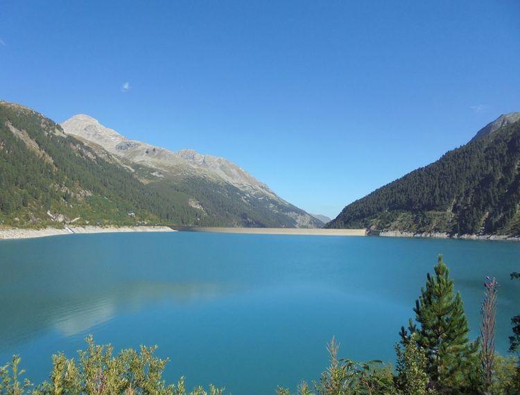 Schlegeisspeicher Stausee Stuwmeer Reservoir Mountain View Eyeemnaturelover💕💕😊☺ IloveZillertal Austria ❤ Lake Mountain Range Lovelynatureshots