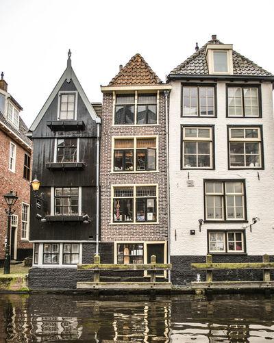 Old Buildings In City