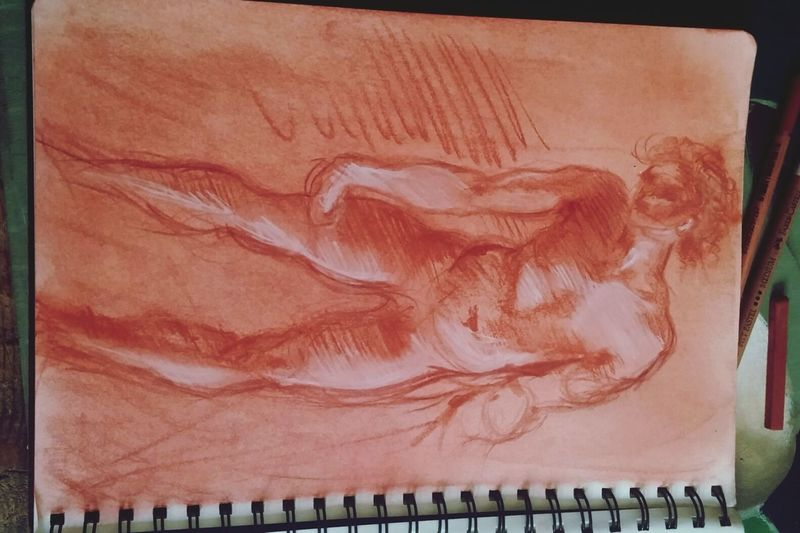 Pontormo Sketchbook Sketch Draw Myartwork Pencilart Art ArtWork Drawing Red