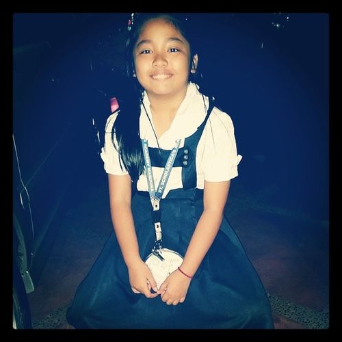 100happydays Day 2: she's a scholastican... she's our big baby...