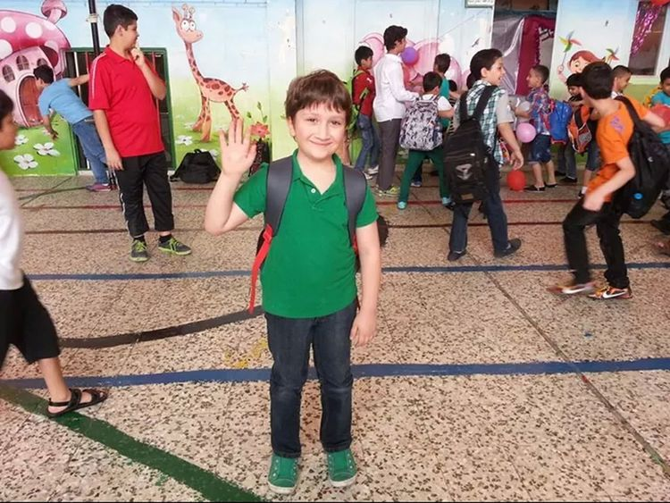 Sam. Hello World . Today At School Tacking Photo Lovly Smile Syrian People Save The Children In Syria Taking Photos My Baby Hi Save The Children