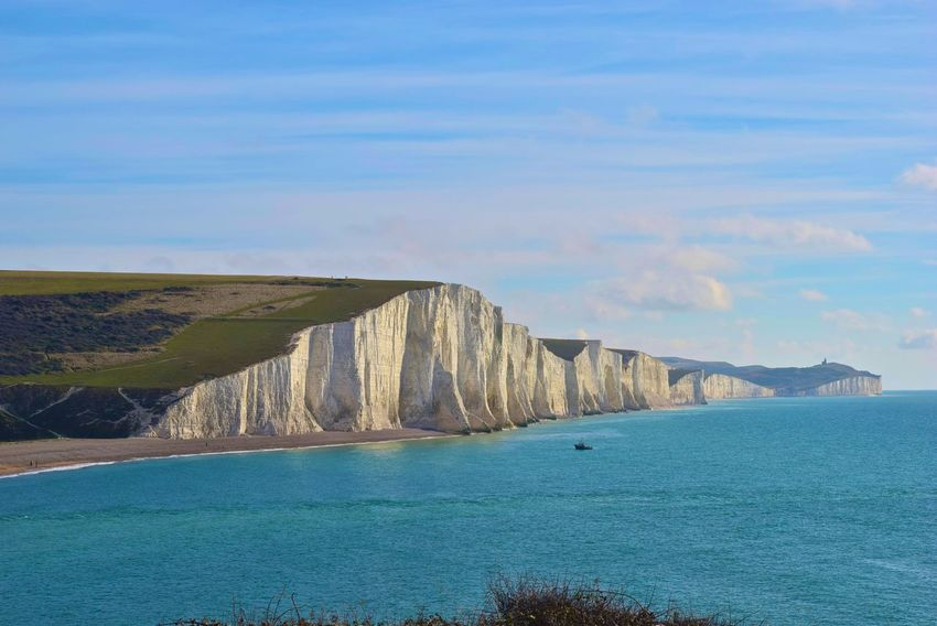 Beauty In Nature Beauty In Nature Chalk Cliffs Landscape Nature Outdoors Seaford Seven Sisters Seven Sisters Cliffs Shore Water Wiew