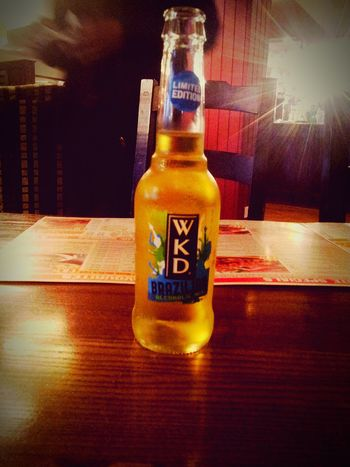 Enjoy ✌ WKD Night Out Limited Edition Brazilian Newlife💛 Love ♥