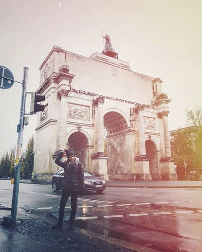 munchen analogue Old Vintage Vscocam Analogue Photography Travel Destinations Love Travel Destinations Building Exterior Day People Sky Adult City Adults Only Stories From The City