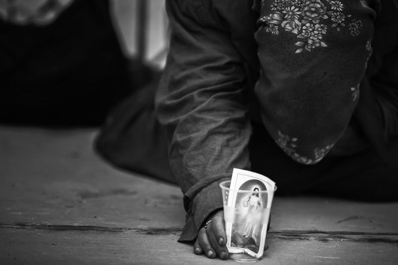 poor woman asking for money Hand Very Close Bnw_life Bnwphotography Bnw_captures Poor  Adult Adults Only Believe Close-up Day Human Body Part Low Section Money No Money One Person People Poor People  Poor Woman Poorness Real People Religion Street Streetphoto_bw Streetphotography EyeEmNewHere