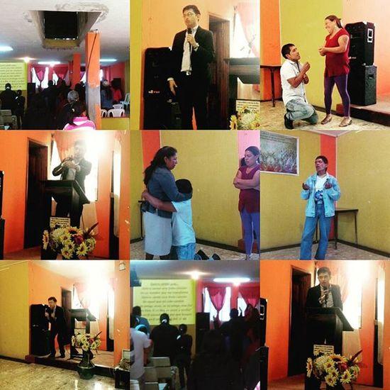Compartiendo de ElPartidodetuvidaLA Charlas sobre Desengánchate el perdón es la base en la IglesiaLaComuna