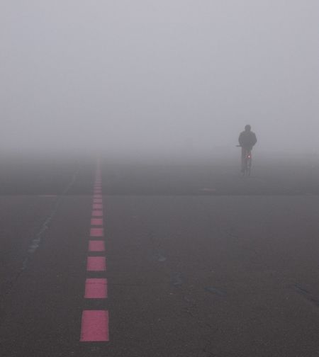 Airfield Tempelhof Alone Berlin Bike Cycling Driving Fahrrad Flowshot Fog Foggy Foggy Day Foggy Morning Foggy Weather Germany Misty Morning Nebel Tempelhofer Feld Tempelhofer Freiheit My Year My View Capture Berlin BYOPaper!