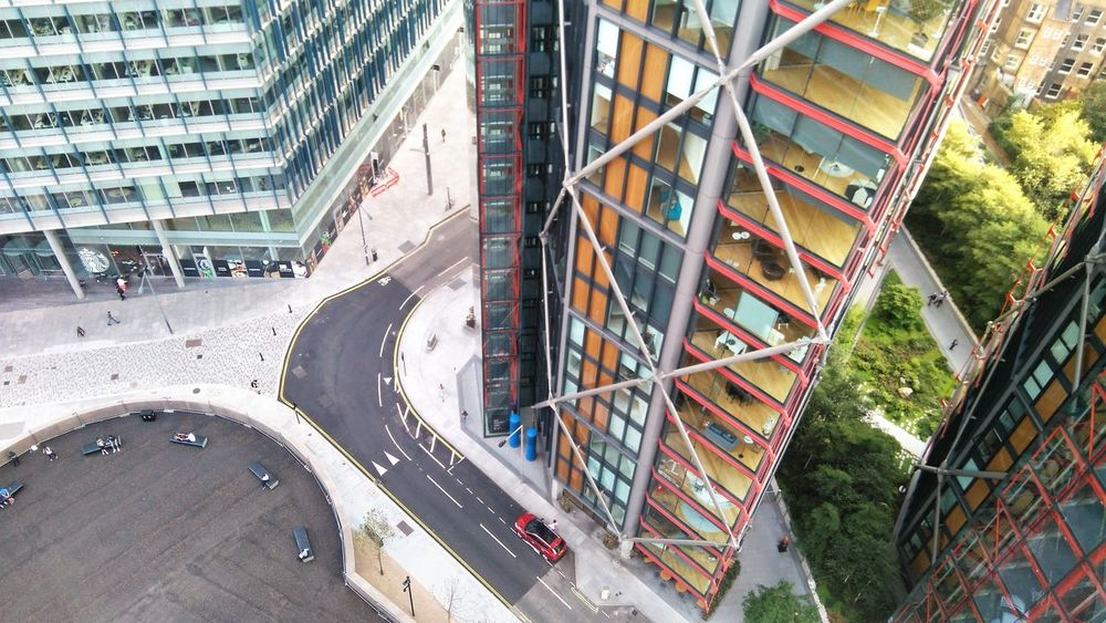 Apartment Buildings Architecture Birds Eye View Dwellings Luxury Neo Bankside