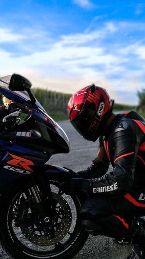 Motorcycle Gsxr Biker Motogram1n6 Shoei Helmet Dainese