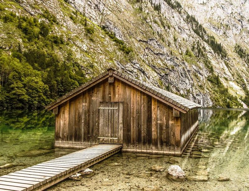 Obersee Hütte Nature Photography EyeEm Nature Lover Berchtesgaden Germany Landscape Nature Ausflug  Landscape_photography