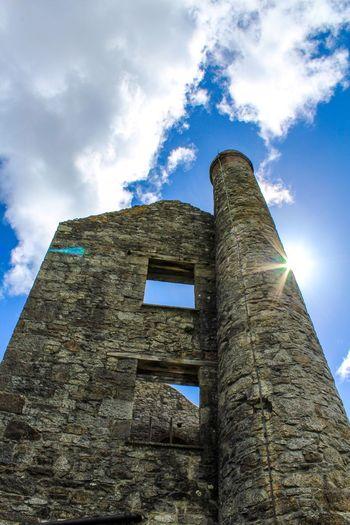 Cornwall Cornwall Uk Mine Abandoned Places Abandoned Mine Lens Flare Sun