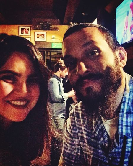 Two People Beard Real People Lifestyles Young Adult O'Malley's Pub Happiness Smiling People Boyfriend