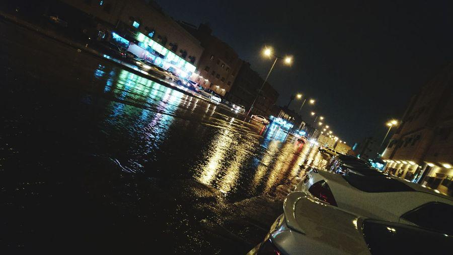 Illuminated Night Outdoors Bridge - Man Made Structure No People Rain Rainy Days Sky Nature