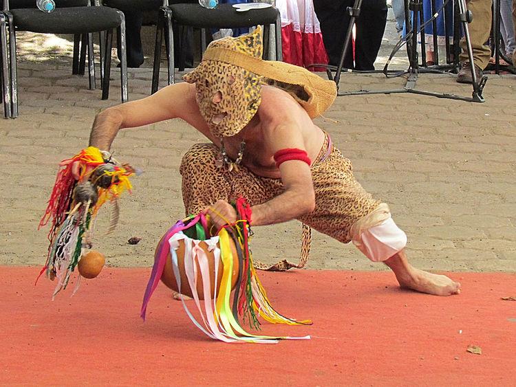 Cultura Dance Floklore JAGUAR Mayan People Ritual Rituals & Cultural