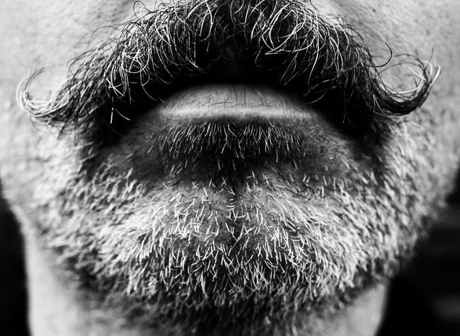 Moustache Movember Lips Portrait Stache Monochrome Blackandwhite Black And White Blue Collar Worker