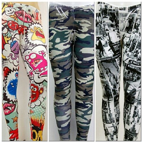 #CartoonLeggings #ArnyofOneLeggings #ILoveNewYorkLeggings PlusSize NikkiesKorner.com