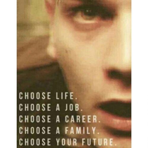 Choose Escolha Trainspotting