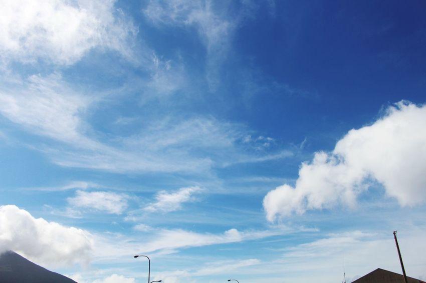 Eoskissx7i Beautiful Nature Sky Cloud Clouds And Sky Hachijo-island 八丈島 Tokyo,Japan Blue Sky Blue