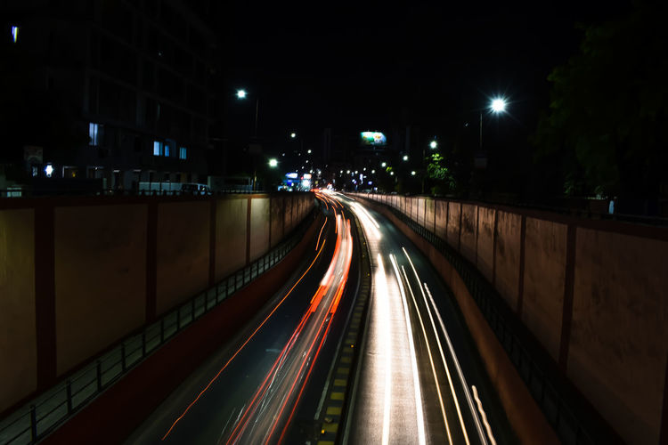 City Illuminated Motion Speed Light Trail City Life Lighting Equipment Road Vehicle Light Headlight First Eyeem Photo EyeEmNewHere