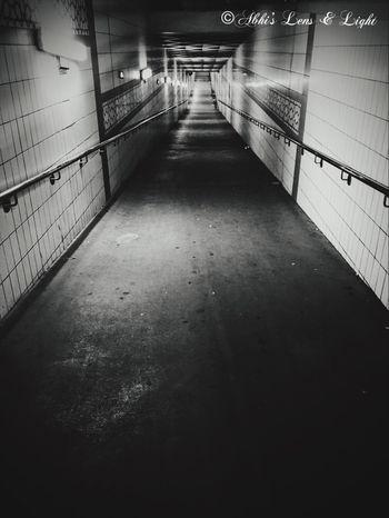 Subway Sharjah Uae Longwalk Darkness And Light Alone... Picoftheday UAE