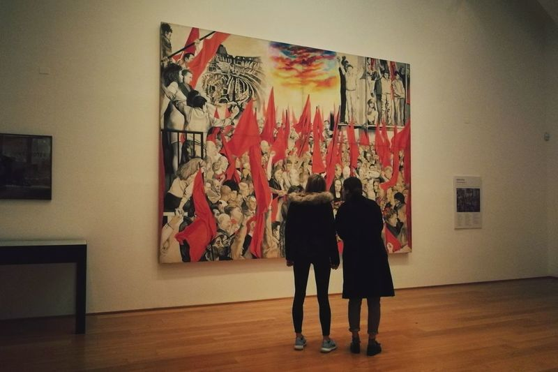 Two People People Women Museo Mambo Museum Art Bolo Bologna, Italy Guttuso