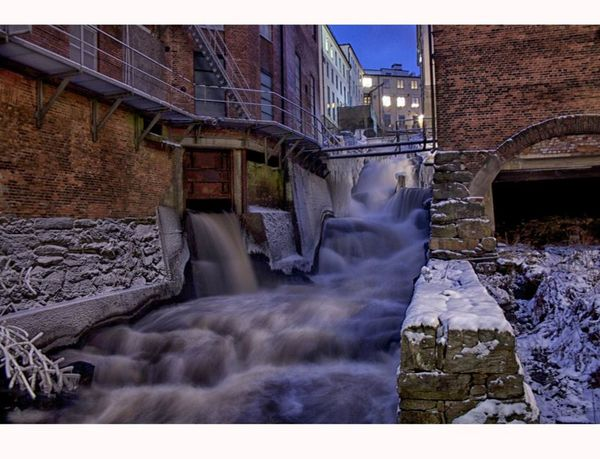 Architecture Architecture Built Structure Factory Kvarnbyn Mölndal No People Sverige Sweden Water Watermill