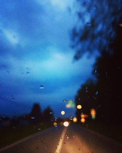 Weather No People Wet Car Interior Close-up Sky Window Drop Nature Night RainDrop Water Beauty In Nature